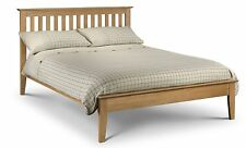 Salerno Shaker Bed Solid Oak 3ft Single 4ft 6 Double or 5ft Kingsize