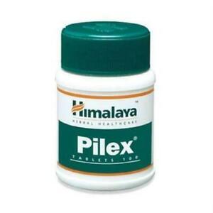 Himalaya Herbals Pilex for Piles Hemorrhoids Support - 100 Tablets