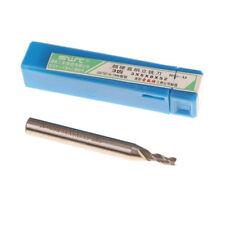 3*6*8*52mm 3 Flute HSS CNC End Mill Cutter Straight Shank Bit Extended WL