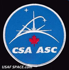 CANADIAN SPACE AGENCY - Agence Spatiale Canadienne - ORIGINAL A-B Emblem PATCH