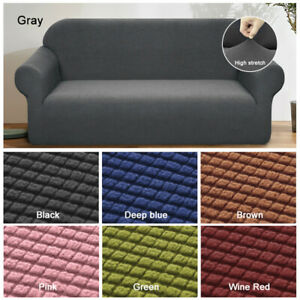 Sofa Covers Thick Elastic Stretch Settee Slipcover Couch Protector 1/2/3/4Seater