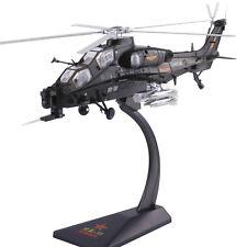 1/48 China PLA WZ-10 Thunderbolt attack helicopter WZ-10 Gunship diecast Model