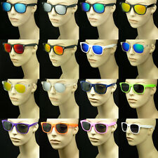 Sunglasses men women retro vintage style glasses frame color hipster new