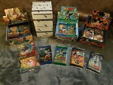 Dragon ball z TCG CARDS BUNDLE 1 BLISTER PACK AND 5 Booster Packs