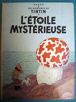 TINTIN L'ETOILE MYSTÉRIEUSE CASTERMAN 1980