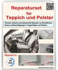 Teppich Polster Autositz KFZ Stoff Brandloch Reparatur Set Smart Repair 37 tlg