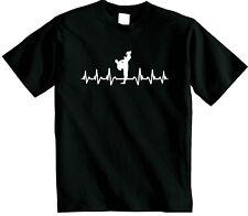Camiseta de Karate | está en mi corazón Freestyle Artes Marciales T-Shirt Camiseta MMA