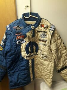 2012 NHRA Champion Allen Johnson Race Worn and SIGNED Driving Suit Photo Match