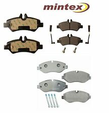 For Mercedes Dodge Freightliner Sprinter 2500 Set of Front & Rear Brake Pad Sets