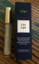 City Cosmetics CITY LIPS Lip Plumper CLEAR NIB Sealed 4.9ml NEW PACKAGING
