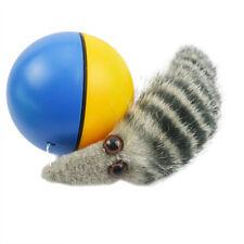 1pcs Wholesale Funny Pet Puppy Furry Weazel Acrylic Rolling Ball  Dog Cat Toys