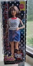 Barbie Fashionistas Doll 32 Dolled Up Denim - Curvy  New in Original Pkg