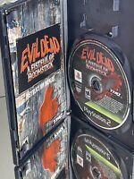 Evil Dead: A Fistful of Boomstick (PlayStation 2, PS2 2003) COMPLETE! Disc Mint