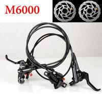 Shimano Deore M6000 MTB Hydraulic Disc Brake Set Front&Rear Ice-Tech RT56 Rotors