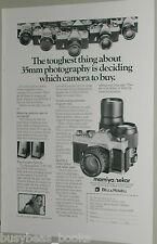 1974 Mamiya Sekor advertisement for MAMIYA DSX 1000 camera