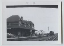 1962 Passenger Railroad Station Joliette Quebec Vintage Photo