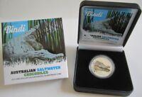Australien 1 Dollar 2013 Saltwater Crocodiles Bindi 1 Oz Silber PP