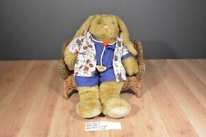 Build-a-Bear Bunny in Hospital Medical Nurse Scrubs with Stethoscope (310-177-3)