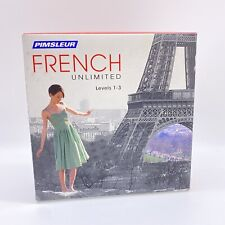 NEW Pimsleur Unlimited FRENCH Language Level 1 2 3 Course
