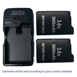 3.6V Rechargeable Battery Or Charger for Sony PSP-110 PSP-1001 PSP 1000 FAT