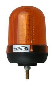 LED Single Bolt Mount Tractor Digger Amber Beacon 12/24V -QUANTITY DISCOUNTS !