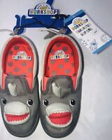 Boys Shark Slip On Shoes Size 11 Build a Bear Workshop