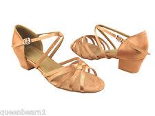 Women's West Coast Swing Ballroom Dance Shoes 8.5 low Heel 1.5 1670C Very Fine
