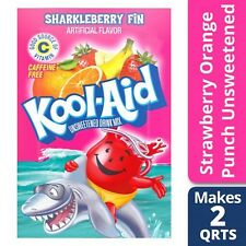 Kool-Aid Sharkleberry Fin Unsweetened Drink Mix 0.15 oz. Packet Pack of 12