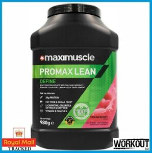 Maximuscle Promax Lean Protein Powder Lean Muscle Definition 980g 28 SERVINGS