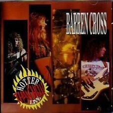 Barren Cross-Hotter Than Hell Live CD1990 Enigma Sealed