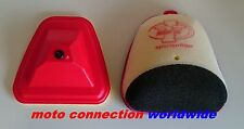 NEW 2016 YAMAHA YZF250 YZF450 14-16 DT1 AIR FILTER & DT1 AIRBOX WASH COVER
