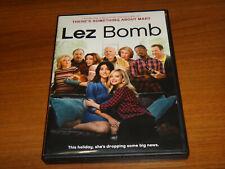 LEZ BOMB (DVD 2018) LESBIAN THEME COMEDY USED VERY GOOD