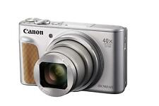 Canon PowerShot sx740 hs plata cámara digital 40 Xzoom 4k 20mp WiFi + 30 € negocio redondo