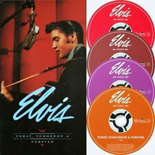 COFFRET 4 CDS / ELVIS PRESLEY -TODAY, TOMORROW AND FOREVER -BMG-2002