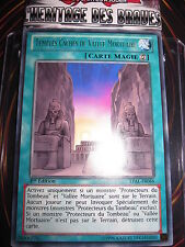 YU-GI-OH! YUGIOH LVAL-FR066 RARE TEMPLES CACHES DE VALLEE MORTUAIRE 1 ED NEUF
