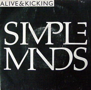 """SIMPLE MINDS """" ALIVE AND KICKING """" VIRGIN /LP 45T /1985"""