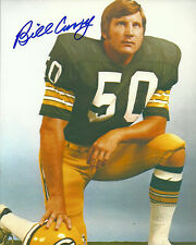 Packers BILL CURRY Signed 8x10 Auto Photo #1  1965 NFL & Super Bowl I Champ