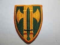 US Army 18th Military Police Color  SSI Dress Uniform MP Patch m/e