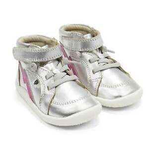 Toddler First Walker Sneakers Old Soles Light The Ground Leather Shoes NEW