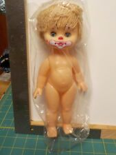 """BLONDE CLOWN FACE DOLL CLASSIC UNDRESSED 10"""" DOLL A14071"""