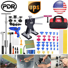 US 70x Paintless Dent Removal Tools PDR Dent Repair Lifter Slide Hammer Hail Set