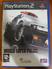 WORLD SUPER POLICE - PLAYSTATION 2 PS2 USATO