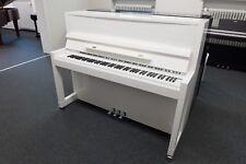 Klavier Feurich 115, Weiß, Chrom, NEU, inkl. Bank