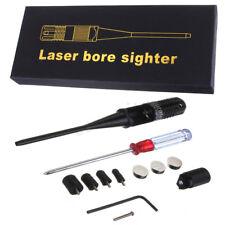 Red Dot Laser BoreSighter Bore Sight Kit 0.22 - 0.50 Caliber Rifle Collimator  !