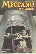 1944 NOVEMBER 33564 Meccano Magazine Cover Picture  THE GUNNER