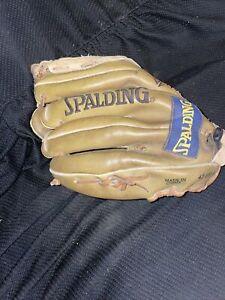 "vintage youth spalding E-Z Flex Right handed 10"" baseball glove 42-651"
