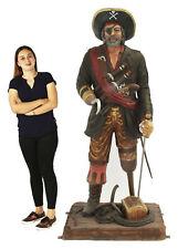 Peg Leg Pirate Life Size Statue - Pirate Decor - Captain Hook Like Pirate 6FT