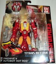Transformers Generations Deluxe Hot Rod Firedrive G1 Rodimus MISB