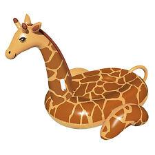 Swimline April The Giraffe Giant Inflatable Ride-On Swimming Pool Float | 90710