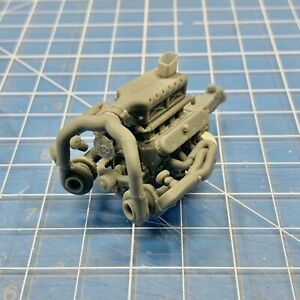 Resin LS Twin Turbo Engine Motor Swap For All Kits 1/24 1/25 MMM